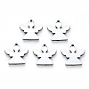304 Stainless Steel Charms X-STAS-N092-93-1
