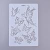 Plastic Drawing Painting Stencils TemplatesDIY-E015-18E-1