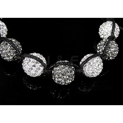Fashion Diamond Bracelets X-BJEW-N138-5-1