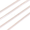 Brass Twisted ChainsCHC010Y-RG-3