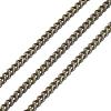 Brass Twisted ChainsCHC010Y-AB-2