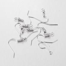 Iron Earring Hooks X-E135