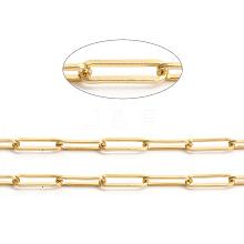 Brass Paperclip Chains CHC-L044-01B-G